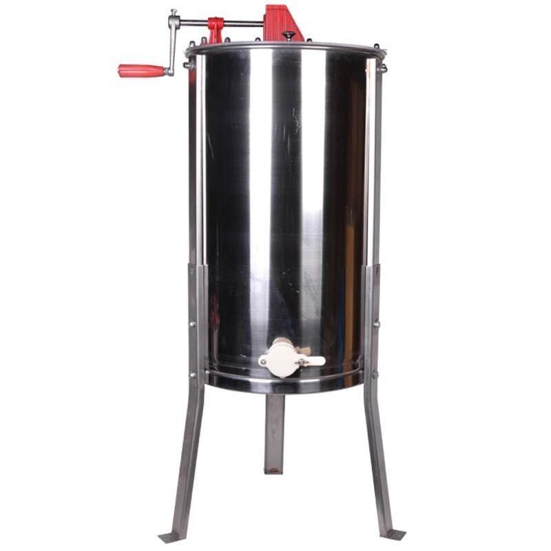 4 Frame Manual Honey Extractor With Stainless Legs For Bee Keeping