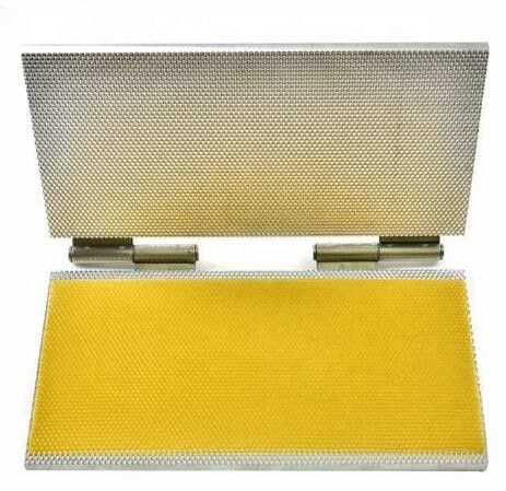 Economic  Manual Beeswax Comb Foundation Press Machine In Flat Form
