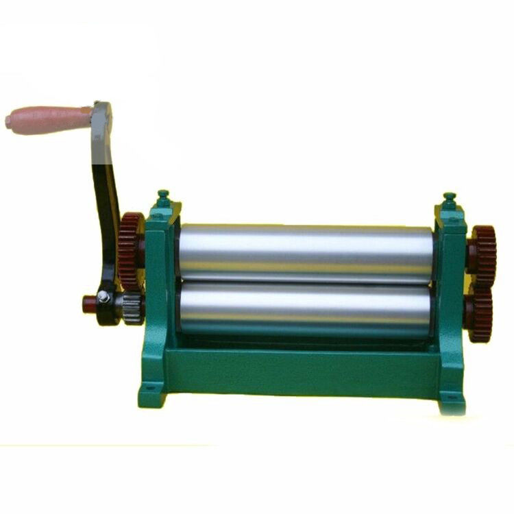 310mm 450mm Manual Beeswax Sheet Mill Roller Machine