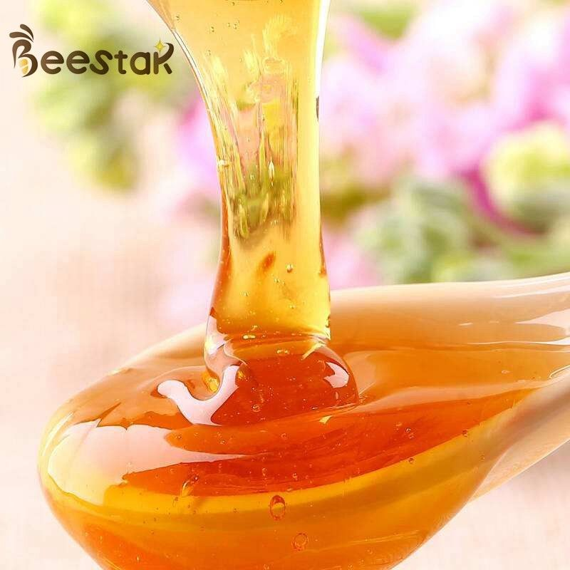 Pure Organic Natural Bee Honey Residues Free Multi Flower Honey